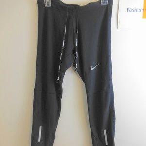 NIKE Women's Black Drawstring Running Pants XL